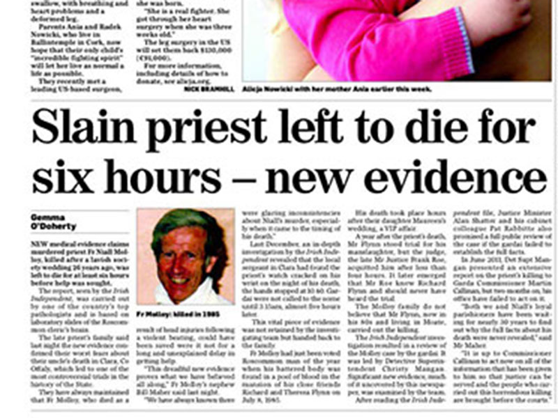 Priest left to die for up to six hours