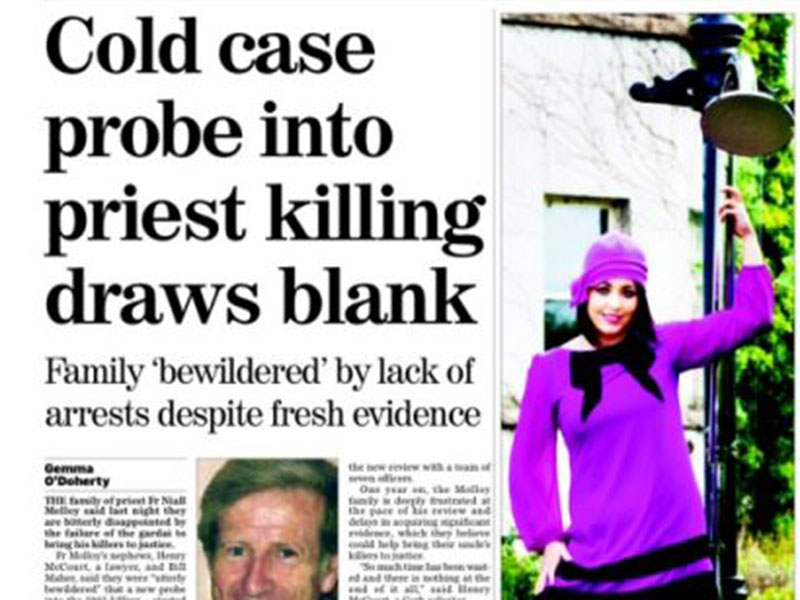 Cold case draws blank