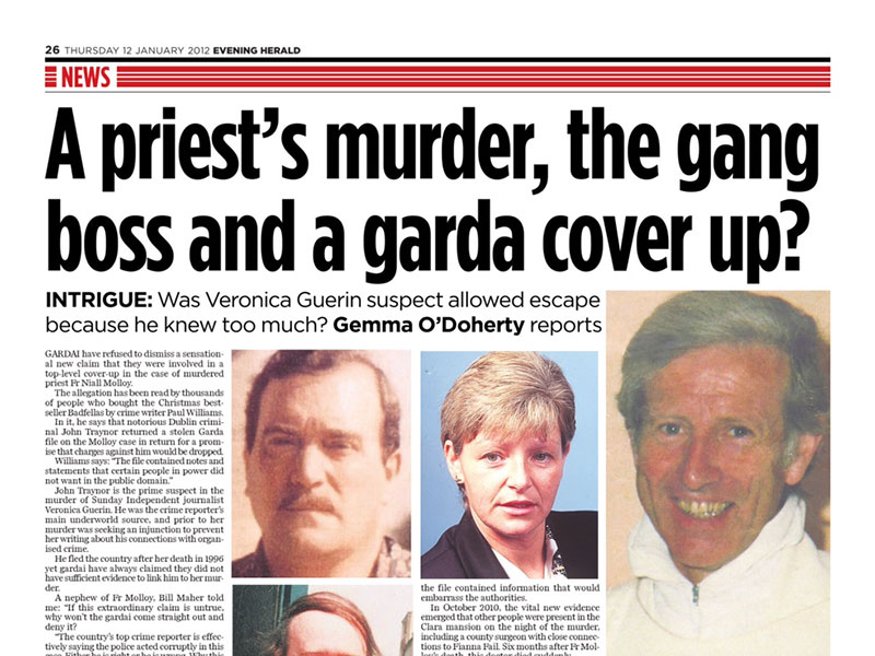 A priests murder and garda cover-up