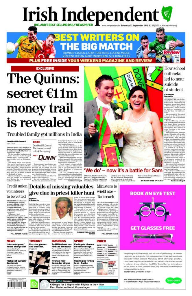 Fr Molloy property stolen Gemma O'Doherty