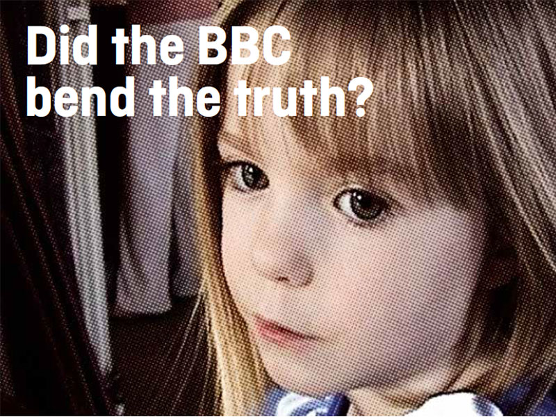 Madeline McCann: Did the BBC bend the truth?
