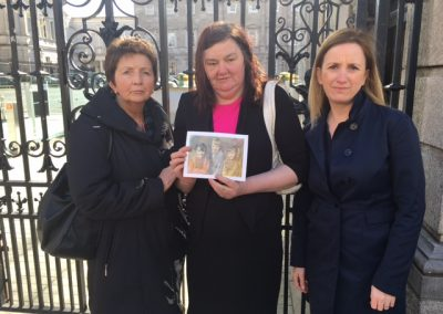 Mary Boyle Dail with Margo and Ann Doherty Gemma O'Doherty
