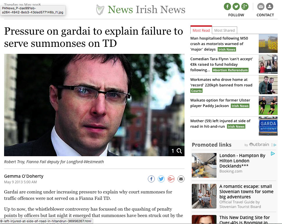 Pressure-on-gardai-to-explain-failure-to-serve-summonses-on-TD