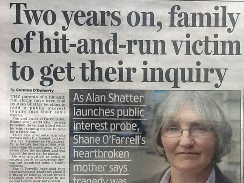 Shane O'Farrell case