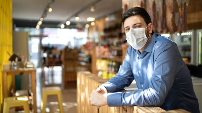 Liability Notice For Shops Denying Entry In Relation To Face Masks
